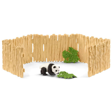 Schleich 42429 Giant Panda Enclosure