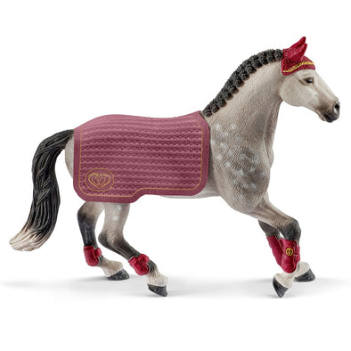 Schleich 42456 Trakehner Mare Riding Tournament.