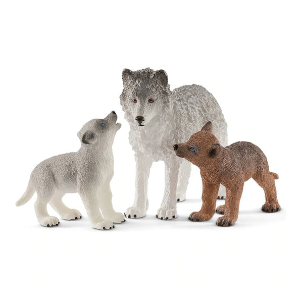 Schleich 42472 Wolf Mother with Pups
