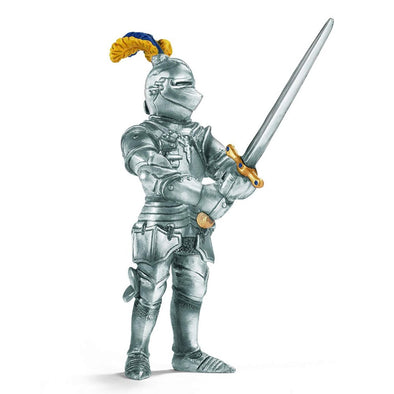 Schleich 70001 Knight with Big Sword Blue