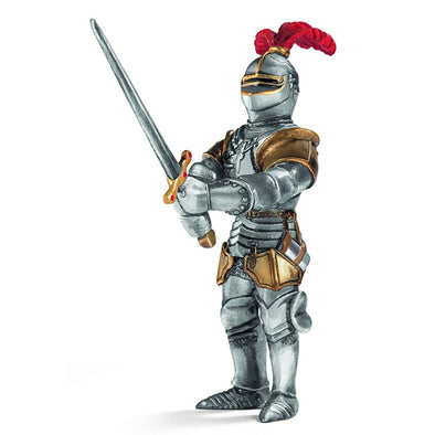 Schleich 70010 Knight with Big Sword Red