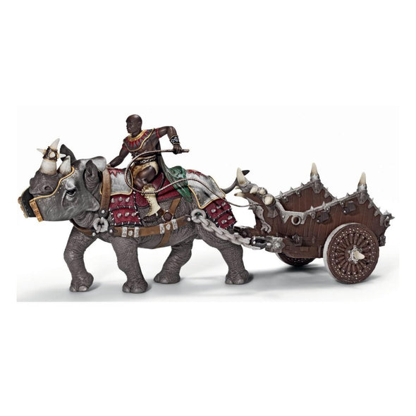 Schleich Heroes 70083 Gladiator with Battle Rhinoceros