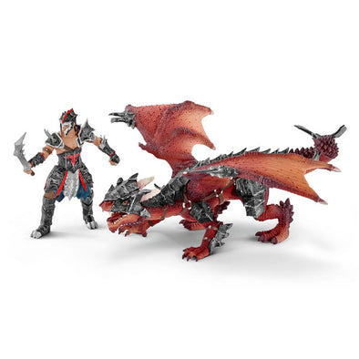 Schleich 70128 Dragon Knight Warrior with Dragon