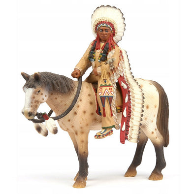 Schleich 70300 Sioux Chief on Horse
