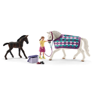 Schleich 72130 Lipizzaner Care Set Special Edition Horse Club