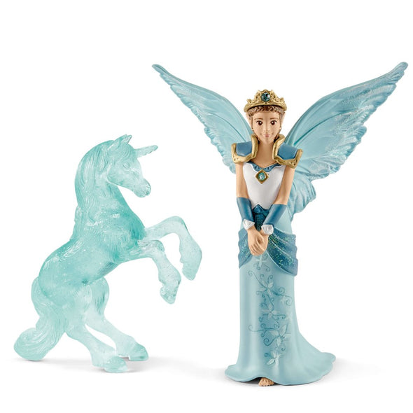 Schleich Bayala 70587 Eyela with Unicorn Ice Sculpture