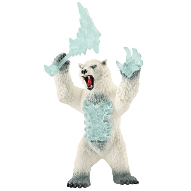 Schleich Eldrador 42510 Blizzard Bear With Weapon