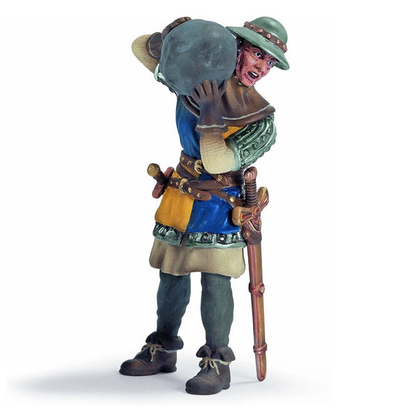 Schleich Knights - Foot Soldier with Stone