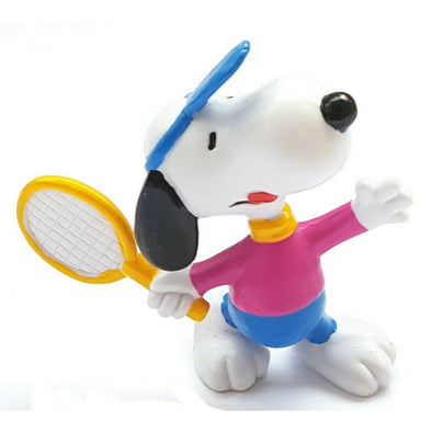 Schleich Peanuts Tennis Snoopy with Pink Shirt
