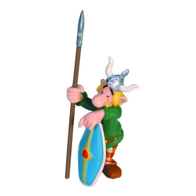 Sleeping Village Guard Gaul Asterix Figure Plastoy Cake Topper