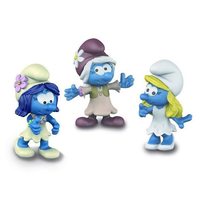 20801 The Lost Village Smurf Smurfettes