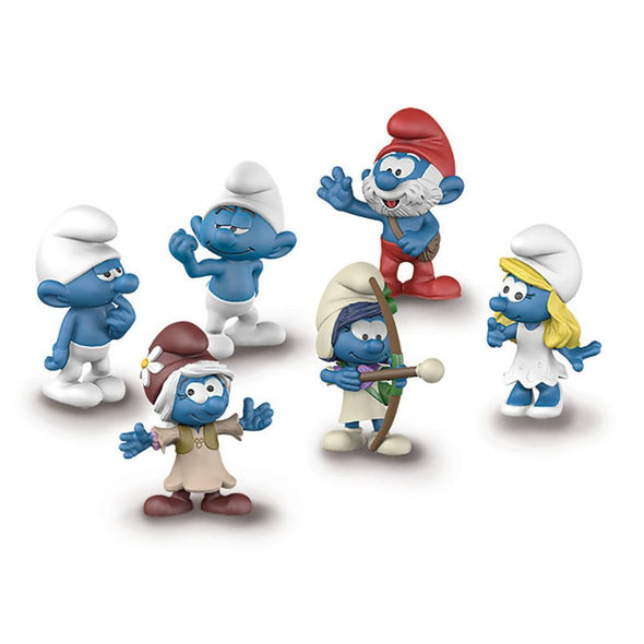 20802 The Lost Village Smurfs Clumsy Papa Hefty Smurf