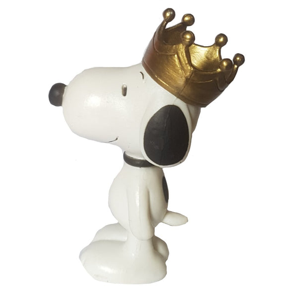 Snoopy with Crown Plastoy Peanuts