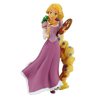 Tangled Rapunzel Painting & Pascal cake toppers