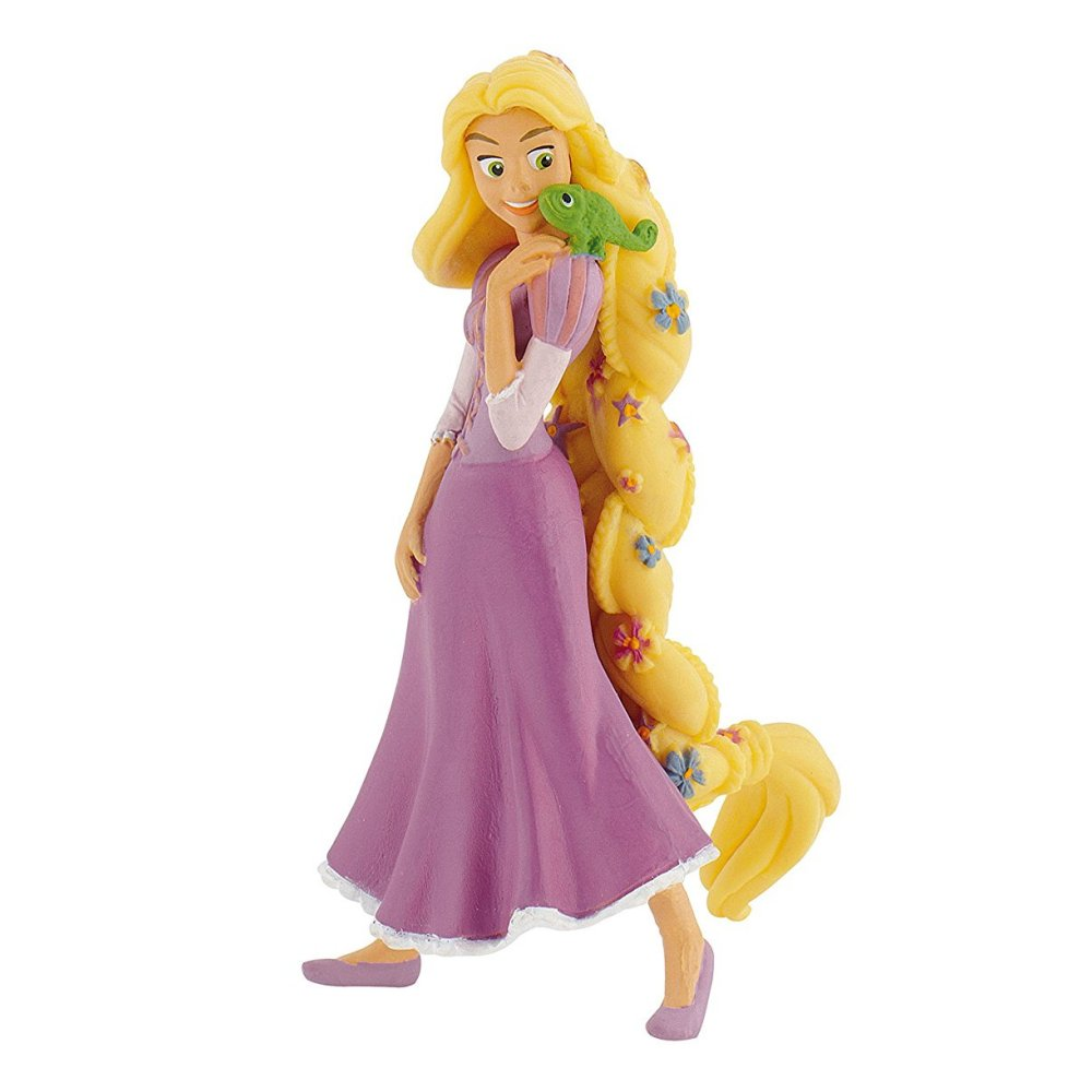 tangled cake topper rapunzel flowers pascal toy figure toy dreamer