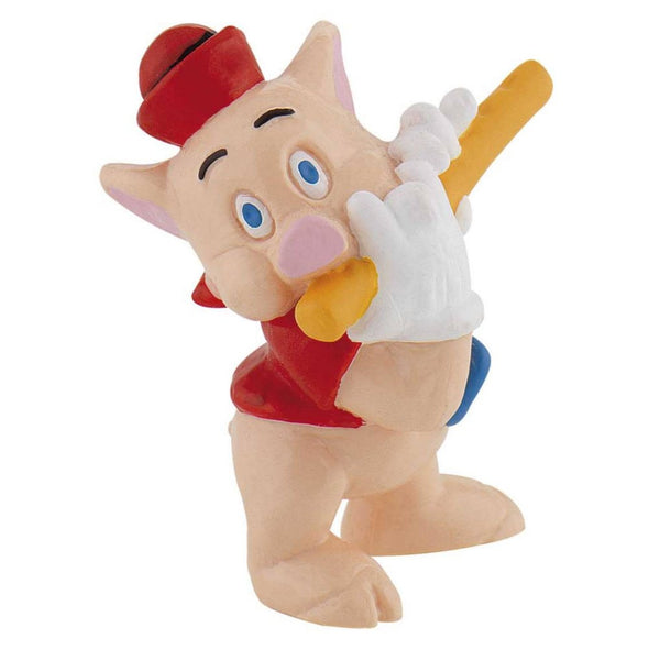 Three Little Pigs Cake Topper Flute Pig Toy Figure