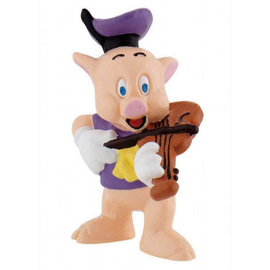 Three Little Pigs Cake Topper Violin Pig Toy Figure