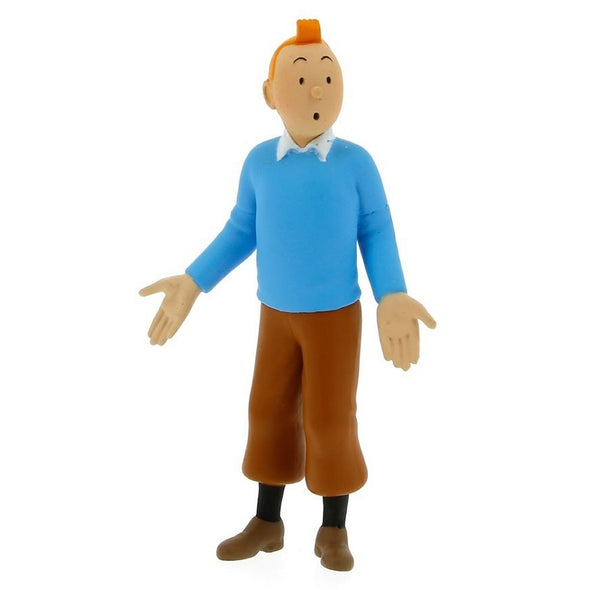 Tintin Blue Pullover PVC toy figure 42502