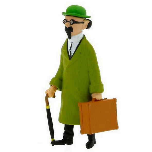 Calculus with Suitcase Tintin PVC Toy Figure