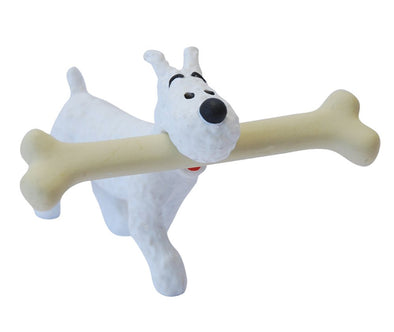 Tintin Snowy Bone PVC Toy Figure 42504
