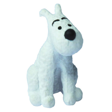 Tintin Snowy Sitting PVC toy figure 42476
