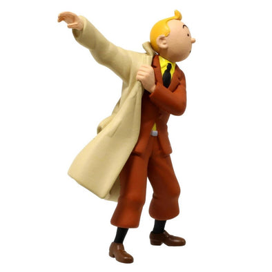 Tintin Trench Coat PVC toy figure 42473