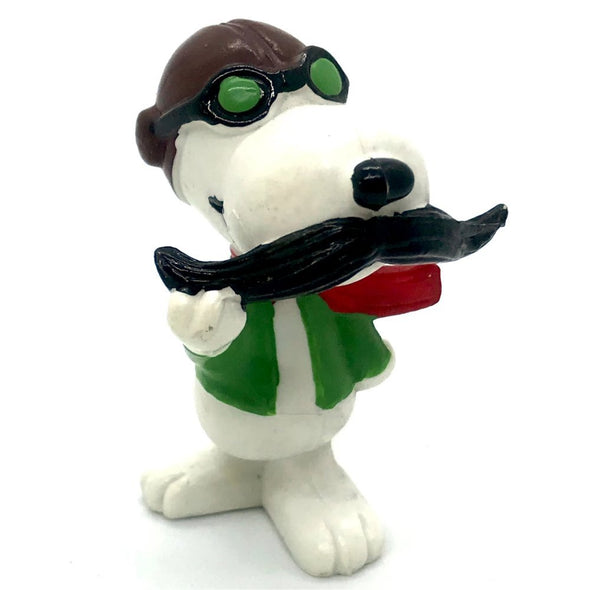 Schleich Peanuts - Snoopy Red Baron with Moustache