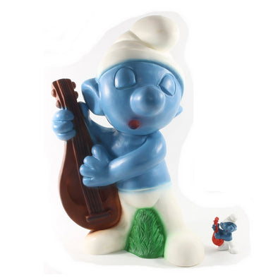 20013 - Lute Smurf - HUGE size