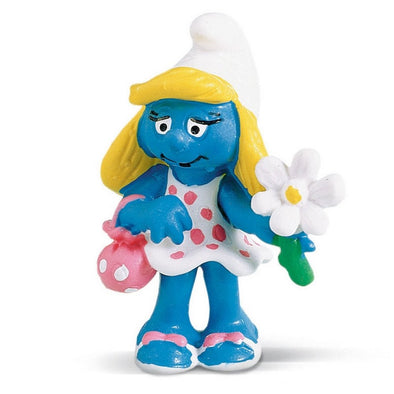 20421 Smurfette with Flower