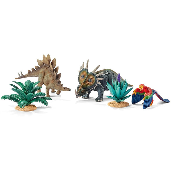 Schleich 42260 At Home with the Herbivores Set.