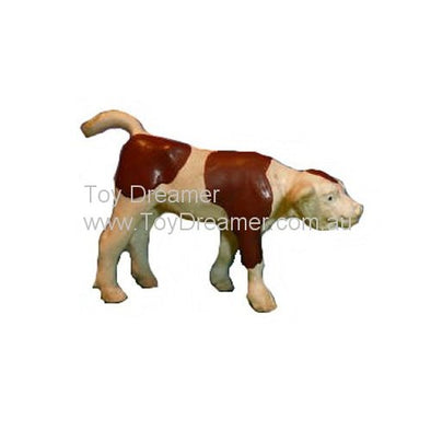 Schleich 13005 Brown & White Calf, standing