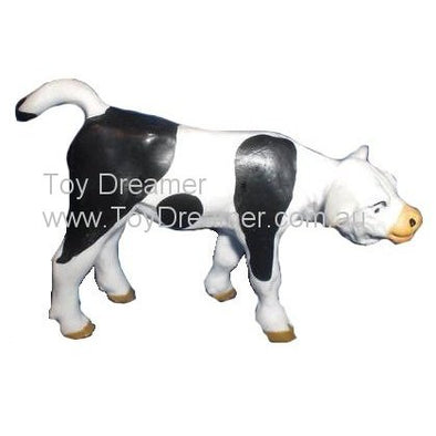 Schleich 13016 Black and White Calf, standing