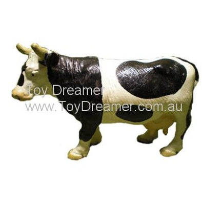 Schleich 13214 Black & White Cow, standing