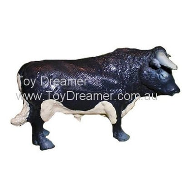 Schleich 13218 Black and White Bull (with Tag!)