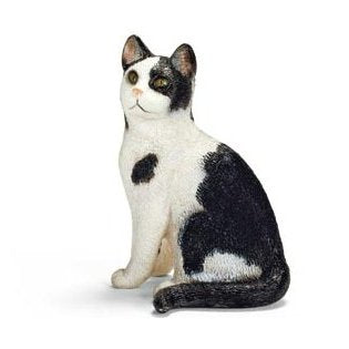 Schleich 13637 Cat, sitting