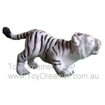 Schleich 14093 White Tiger Cub, lurking (with Tag!)