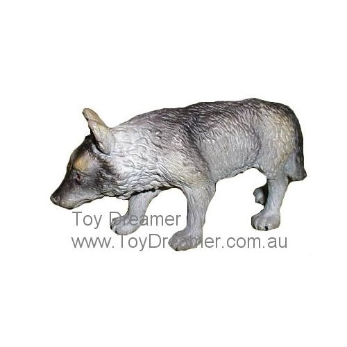 Schleich 14223 Wolf Dark & Light Grey