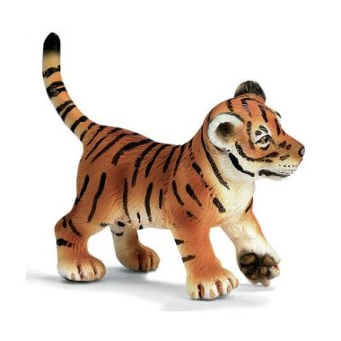 Schleich 14319 Tiger Cub, playing