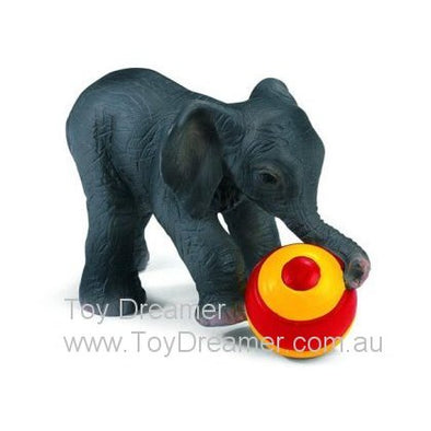 Schleich 14457 Elephant Calf with Ball