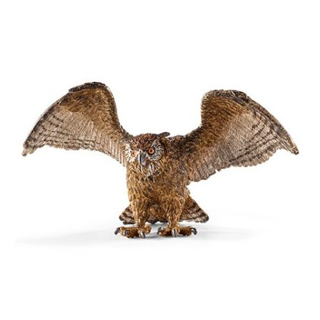 Schleich 14738 Eagle Owl, spread wings