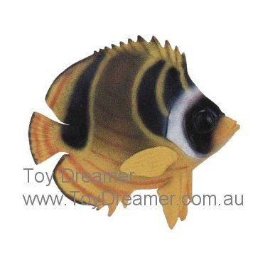Schleich 16251 Raccoon Butterfly Fish (New with Tag!)