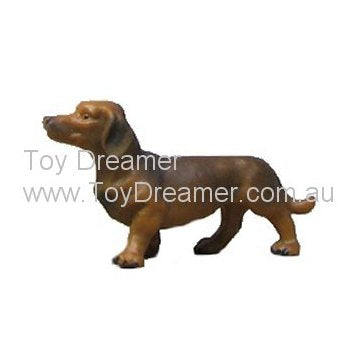 Schleich 16308 Shorthaired Dachshund (couple tiny rubs)