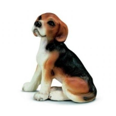 Schleich 16332 Beagle, sitting (New with Tag!)