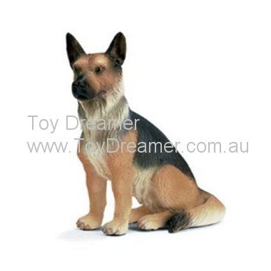 Schleich 16334 German Shepherd, sitting Dog