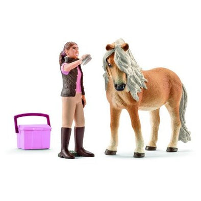 Schleich 41431 Groom with Icelandic Pony Mare