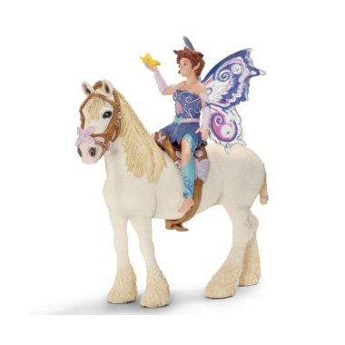 Schleich 42099 Limeya Elf Riding Set