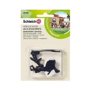 Schleich 42123 Show Jumping Saddle & Bridle