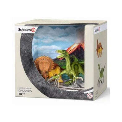 Schleich 42217 Triceratops & Therizinosaurus (small)