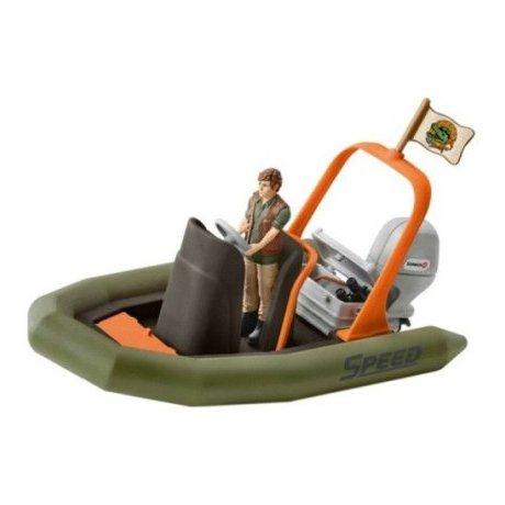 Schleich 42352 Dinghy with Ranger