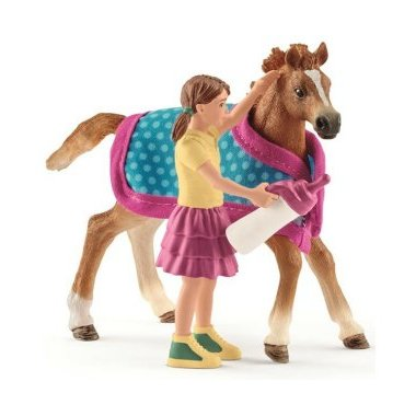 Schleich 42361 Foal with Blanket